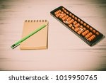 mental arithmetic background | Shutterstock . vector #1019950765