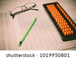 mental arithmetic background | Shutterstock . vector #1019950801