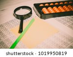 mental arithmetic background | Shutterstock . vector #1019950819