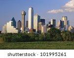 scenic dallas skyline   Shutterstock . vector #101995261