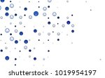 light blue vector texture with... | Shutterstock .eps vector #1019954197