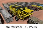 EOS Mars Program Technology: Containerised System - stock photo