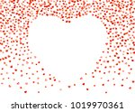 Valentines Day Border With Red ...