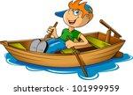 Small Fisherman On A Big Boat....