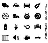 origami style icon set   car... | Shutterstock .eps vector #1020054967