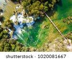 Aerial Photo Of Krka Waterfalls ...