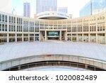 shinjuku  tokyo  japan  ... | Shutterstock . vector #1020082489