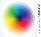 color wheels. vector... | Shutterstock .eps vector #102008665