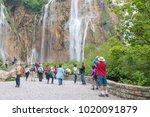 plitvice national park  croatia ... | Shutterstock . vector #1020091879