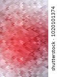 light red low poly background.... | Shutterstock . vector #1020101374