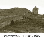 copy of old lithographic... | Shutterstock . vector #1020121507