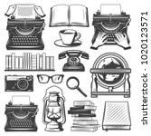 Vintage Writer Elements Set...