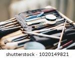 visage cosmetic brush   Shutterstock . vector #1020149821