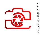 photography icon vector logo... | Shutterstock .eps vector #1020151915
