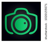 photography icon vector logo... | Shutterstock .eps vector #1020155071