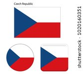 Flag Of Czech Republic. Correc...