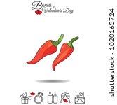 color vector illustration.... | Shutterstock .eps vector #1020165724