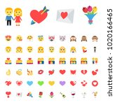valentine  valentine's day  8... | Shutterstock .eps vector #1020166465