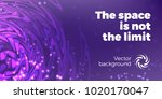 abstract space background with... | Shutterstock .eps vector #1020170047