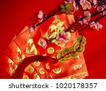 chinese new year festival... | Shutterstock . vector #1020178357