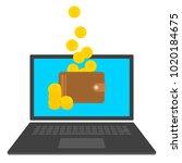 design concept of... | Shutterstock .eps vector #1020184675