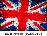 great britain flag  union jack... | Shutterstock . vector #102019501