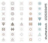seamless patterns background... | Shutterstock .eps vector #1020203695