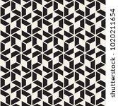 vector seamless stripes pattern.... | Shutterstock .eps vector #1020211654
