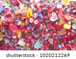 n seoul tower 15 january 2018... | Shutterstock . vector #1020212269