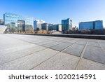 empty marble floor with... | Shutterstock . vector #1020214591