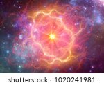 Exploding Supernova In Space ...