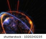 concept of network  internet...   Shutterstock . vector #1020243235