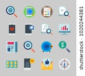 icons about seo with smartphone ... | Shutterstock .eps vector #1020244381