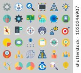 icons about marketing with...   Shutterstock .eps vector #1020246907