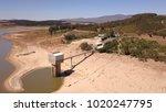 empty dam near cape town  south ... | Shutterstock . vector #1020247795