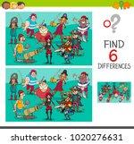 cartoon illustration of find... | Shutterstock .eps vector #1020276631
