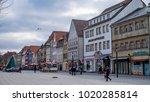 bayreuth  germany   05.02.2018  ... | Shutterstock . vector #1020285814