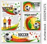 soccer sport club team banner... | Shutterstock .eps vector #1020291271