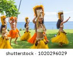 papeete  french polynesia  ... | Shutterstock . vector #1020296029