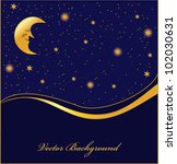 dark background with stars ... | Shutterstock .eps vector #102030631