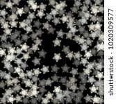 snowflake covered consists of... | Shutterstock .eps vector #1020309577