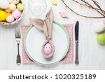 Beautiful Festive Easter Table...