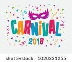 carnival event in brazil.... | Shutterstock .eps vector #1020331255