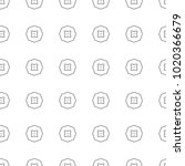 seamless vector pattern in... | Shutterstock .eps vector #1020366679