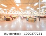 wide view blurred produce... | Shutterstock . vector #1020377281