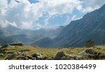 best panorama view in romania | Shutterstock . vector #1020384499