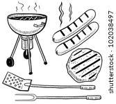 Doodle Style Backyard Cookout...