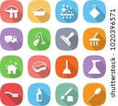 flat vector icon set   factory... | Shutterstock .eps vector #1020396571