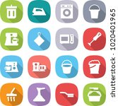 flat vector icon set   bin... | Shutterstock .eps vector #1020401965
