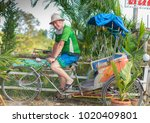 editorial use only  a tourist...   Shutterstock . vector #1020409801